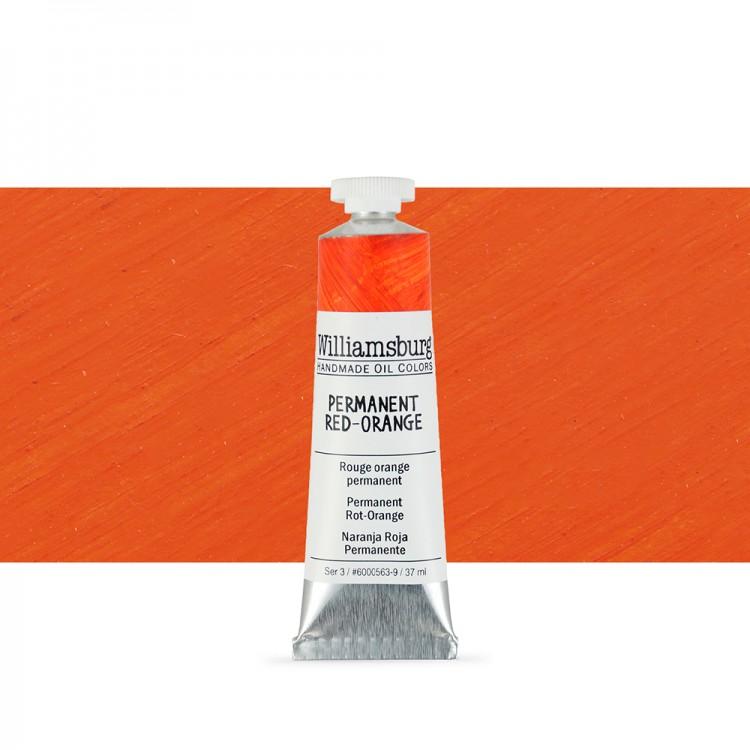 Williamsburg : Oil Paint : 37ml Permanent Red-Orange