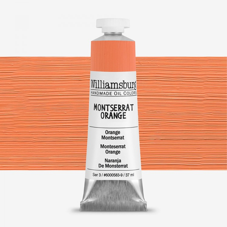 Williamsburg : Oil Paint : 37ml Montserrat Orange