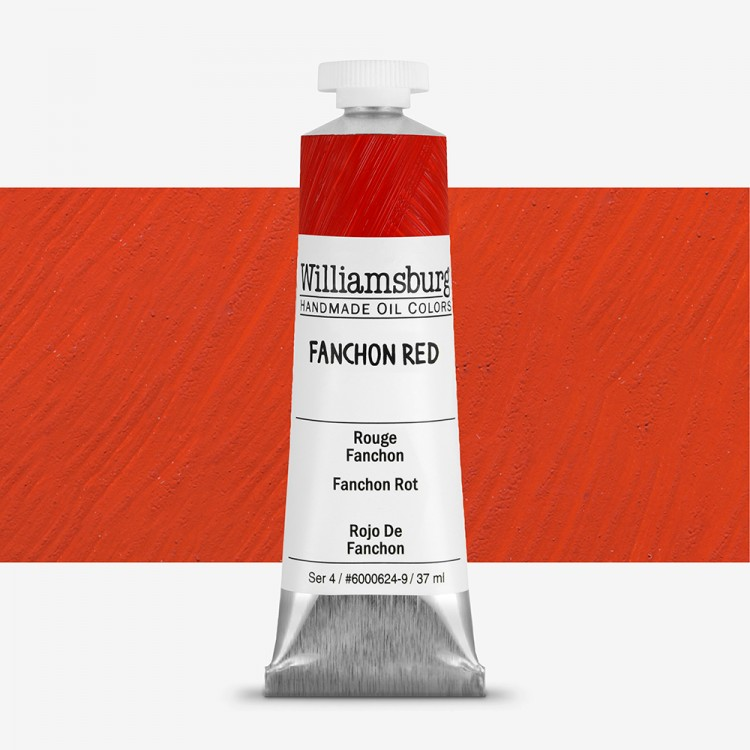 Williamsburg : Oil Paint : 37ml Fanchon Red