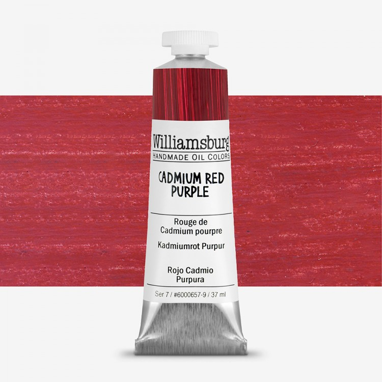 Williamsburg : Oil Paint : 37ml Cadmium Red Purple