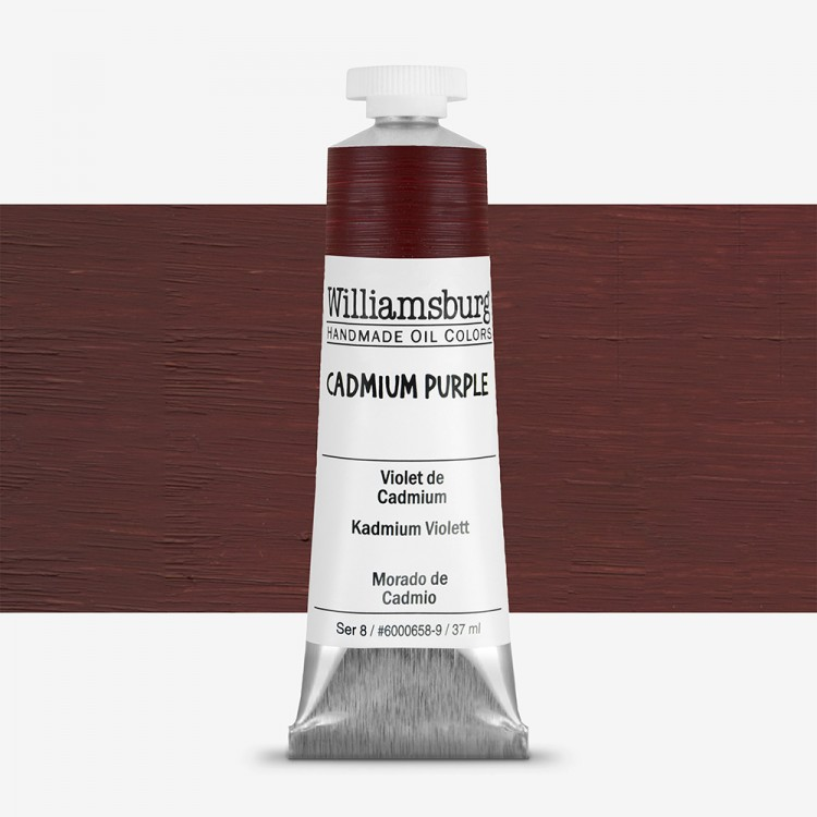 Williamsburg : Oil Paint : 37ml Cadmium Purple