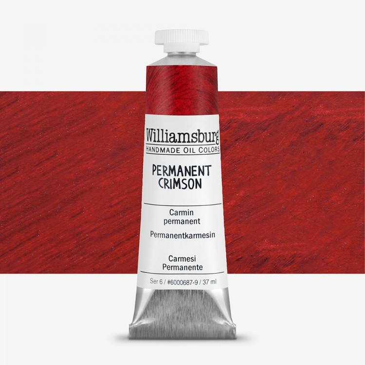 Williamsburg : Oil Paint : 37ml Permanent Crimson