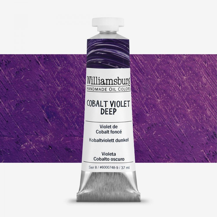 Williamsburg : Oil Paint : 37ml Cobalt Violet Deep