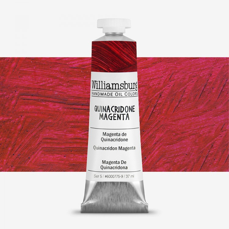 Williamsburg : Oil Paint : 37ml Quinacridone Magenta