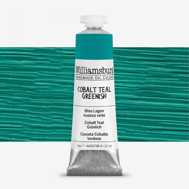 Williamsburg : Oil Paint : 37ml Cobalt Teal Greenish