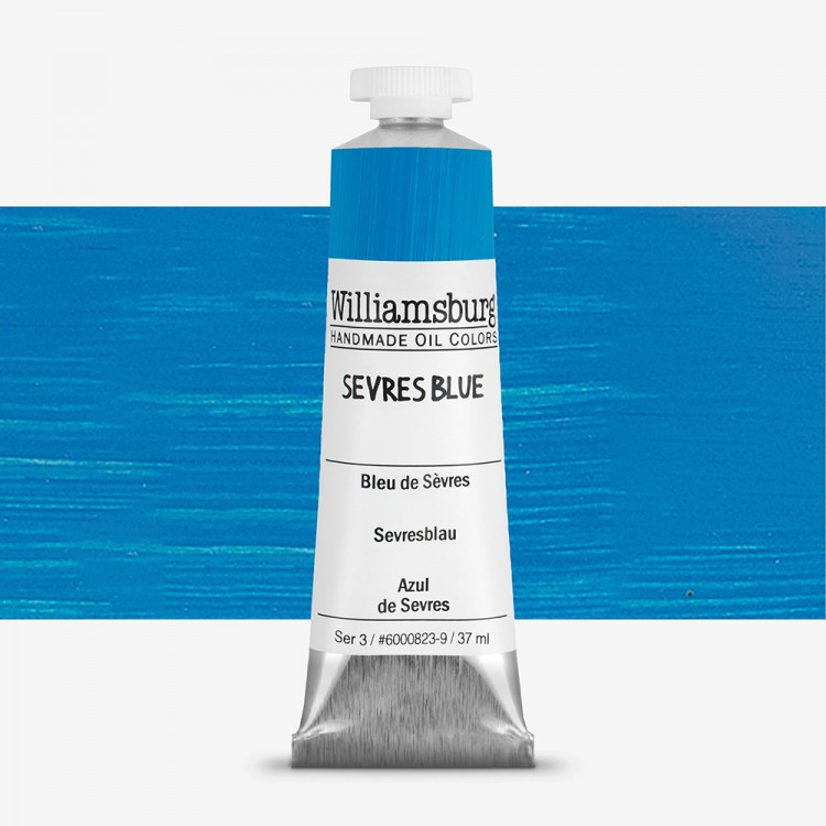 Williamsburg : Oil Paint : 37ml Sevres Blue