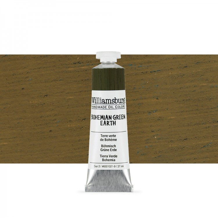 Williamsburg : Oil Paint : 37ml Bohemian Green Earth