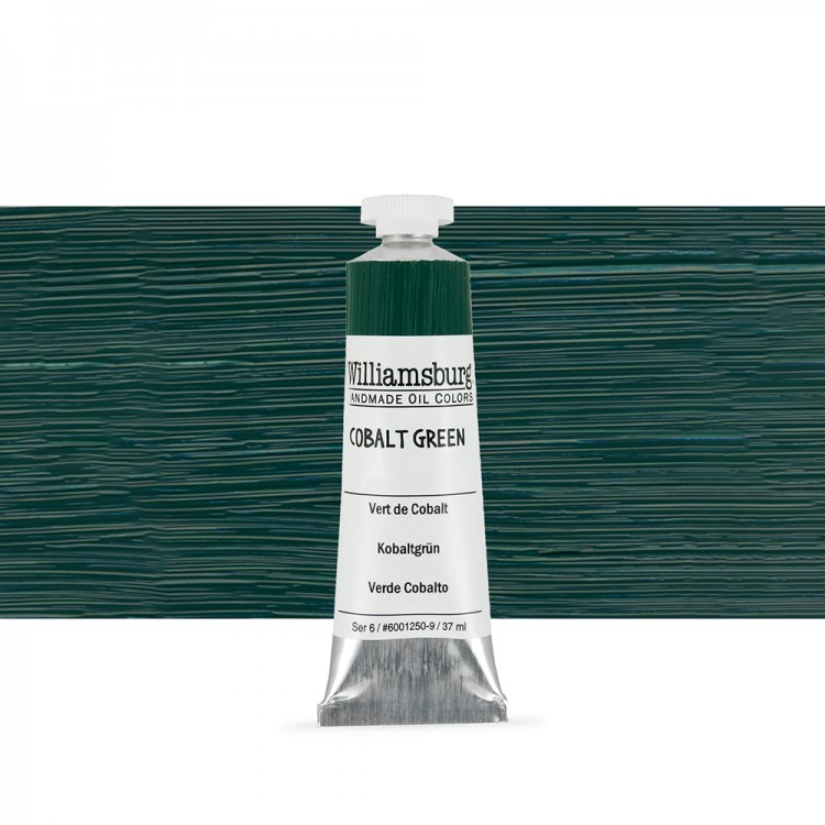 Williamsburg : Oil Paint : 37ml Cobalt Green