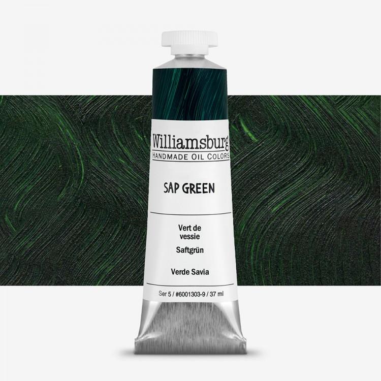 Williamsburg : Oil Paint : 37ml : Sap Green
