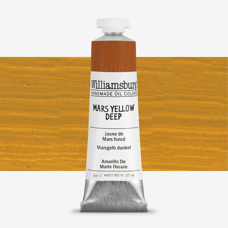 Williamsburg : Oil Paint : 37ml Mars Yellow Deep