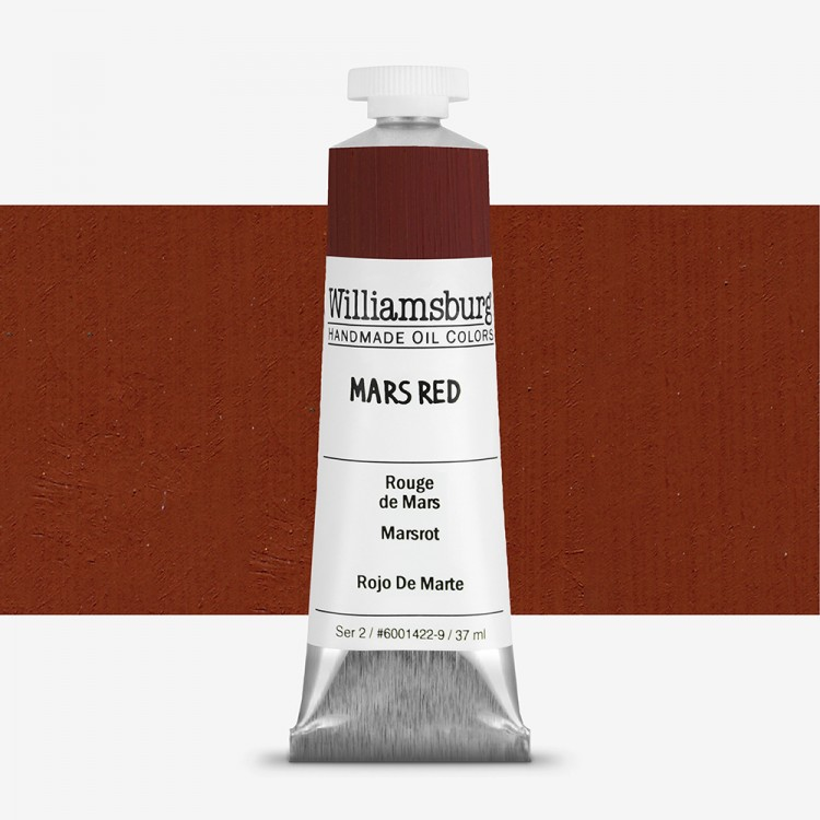 Williamsburg : Oil Paint : 37ml Mars Red