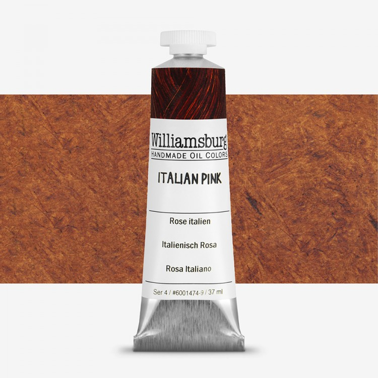 Williamsburg : Oil Paint : 37ml Italian Pink