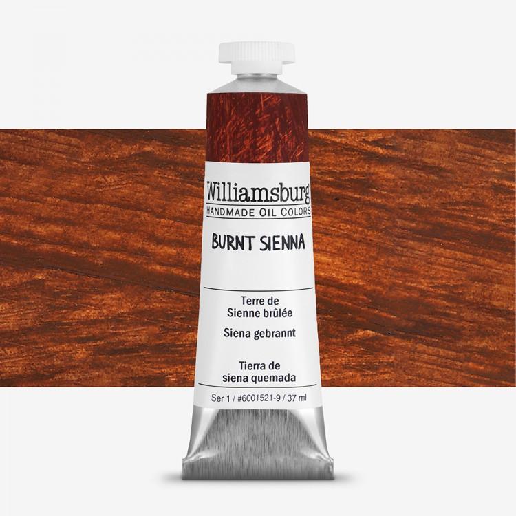 Williamsburg : Oil Paint : 37ml Burnt Sienna
