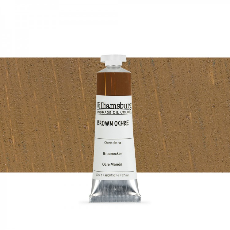 Williamsburg : Oil Paint : 37ml Brown Ochre