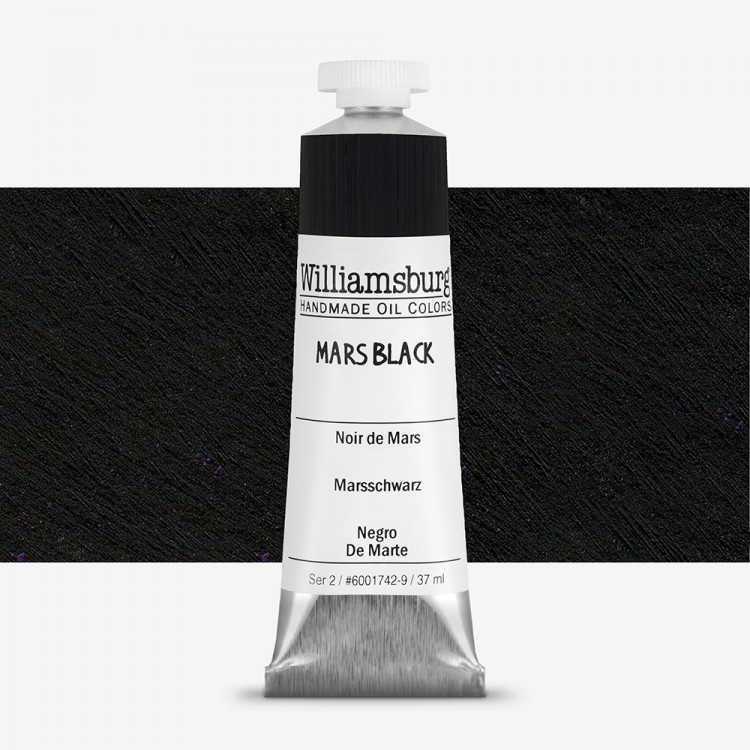 Williamsburg : Oil Paint : 37ml Mars Black