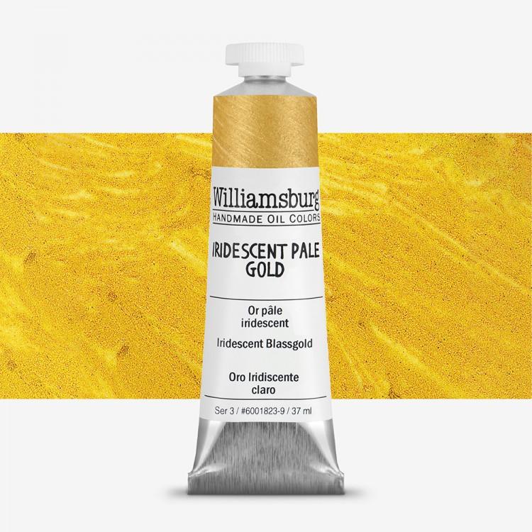 Williamsburg : Oil Paint : 37ml : Iridescent Pale Gold