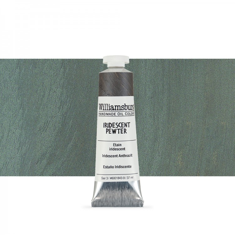 Williamsburg : Oil Paint : 37ml Iridescent Pewter
