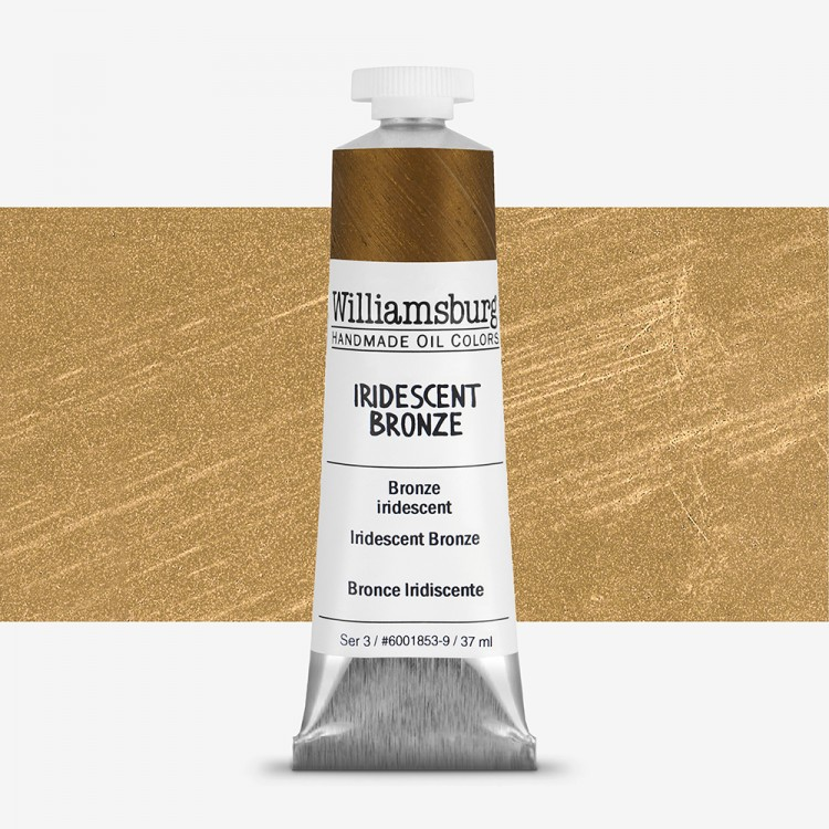 Williamsburg : Oil Paint : 37ml Iridescent Bronze