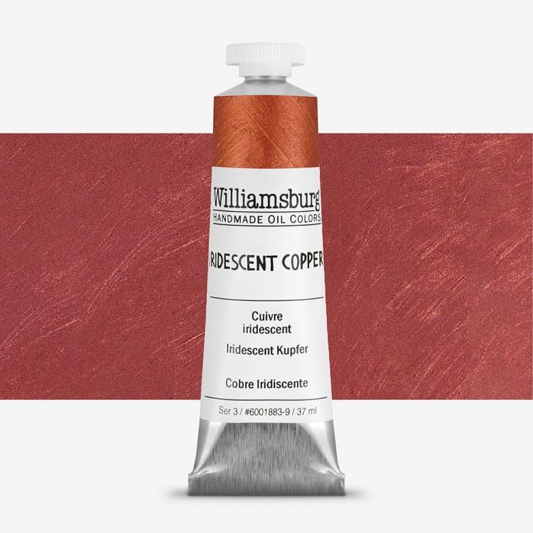 Williamsburg : Oil Paint : 37ml Iridescent Copper
