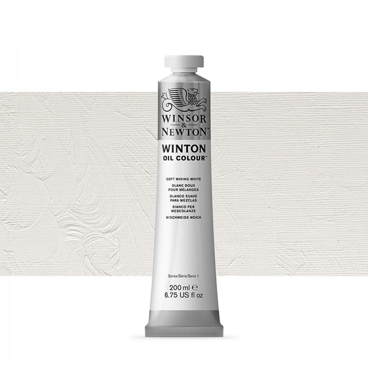Winsor & Newton : Winton Oil Paint : 200ml : Soft Mixing White