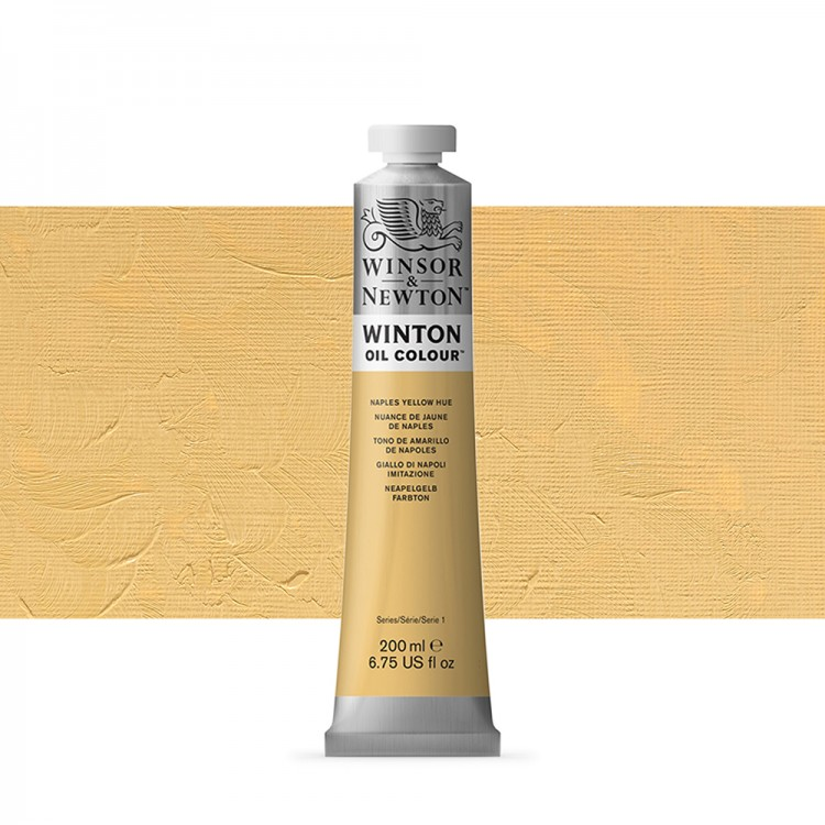 Winsor & Newton : Winton Oil Paint : 200ml : Naples Yellow Hue