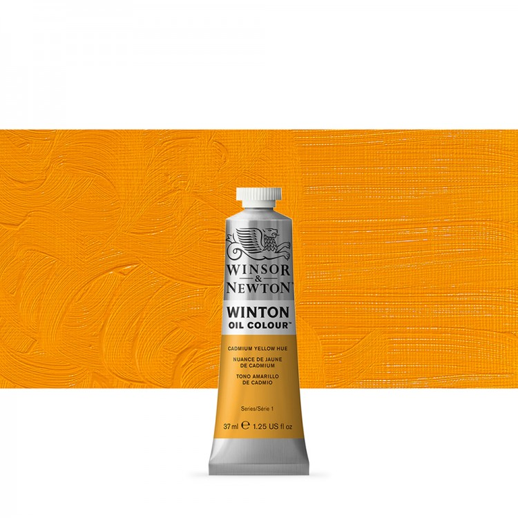 Winsor & Newton : Winton Oil Paint : 37ml : Cadmium Yellow Hue