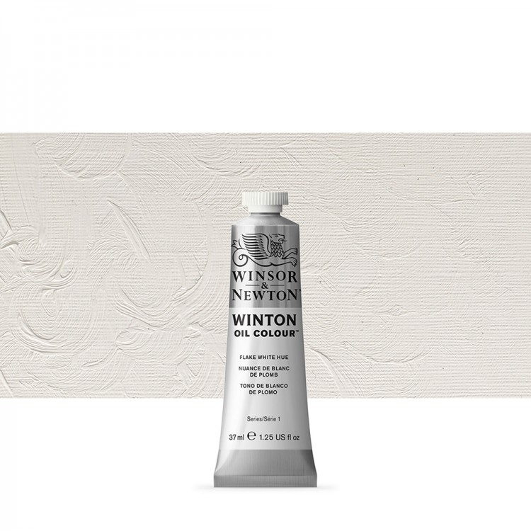 Winsor & Newton : Winton Oil Paint : 37ml : Flake White Hue