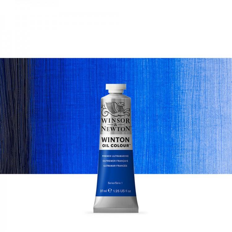 Winsor & Newton : Winton : Oil Paint : 37ml : French Ultramarine