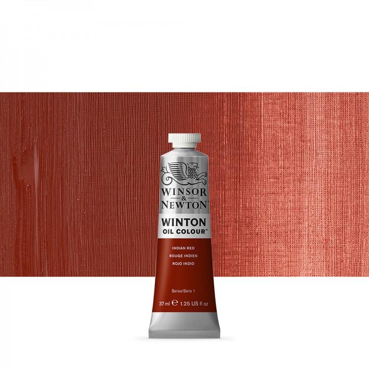 Winsor & Newton : Winton Oil Paint : 37ml : Indian Red