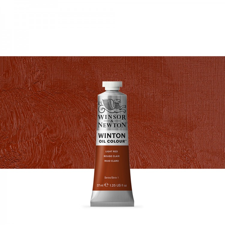 Winsor & Newton : Winton Oil Paint : 37ml : Light Red