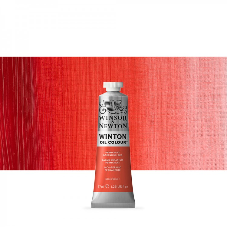 Winsor & Newton : Winton Oil Paint : 37ml : Permanent Geranium Lake