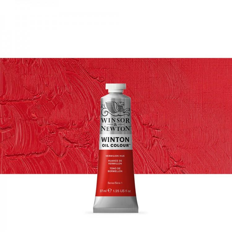 Winsor & Newton : Winton Oil Paint : 37ml : Vermillion Hue