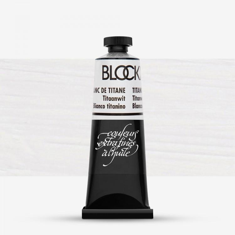 Blockx : Oil Paint : 35ml : Titanium White