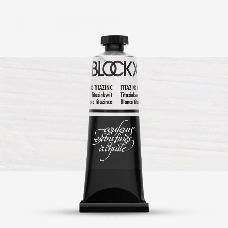 Blockx : Oil Paint : 35ml : Titanium Zinc White