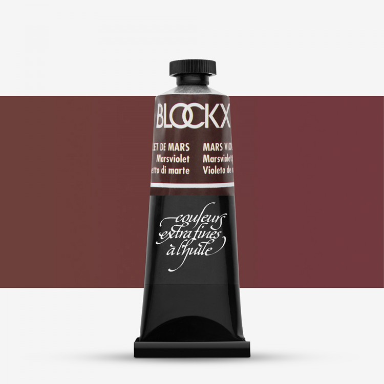 Blockx : Oil Paint : 35ml : Mars Violet