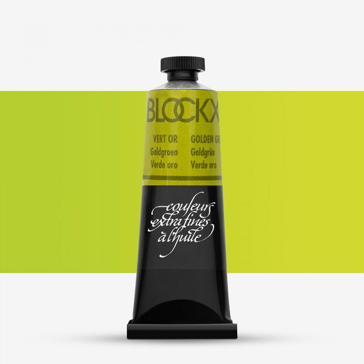 Blockx : Oil Paint : 35ml : Golden Green
