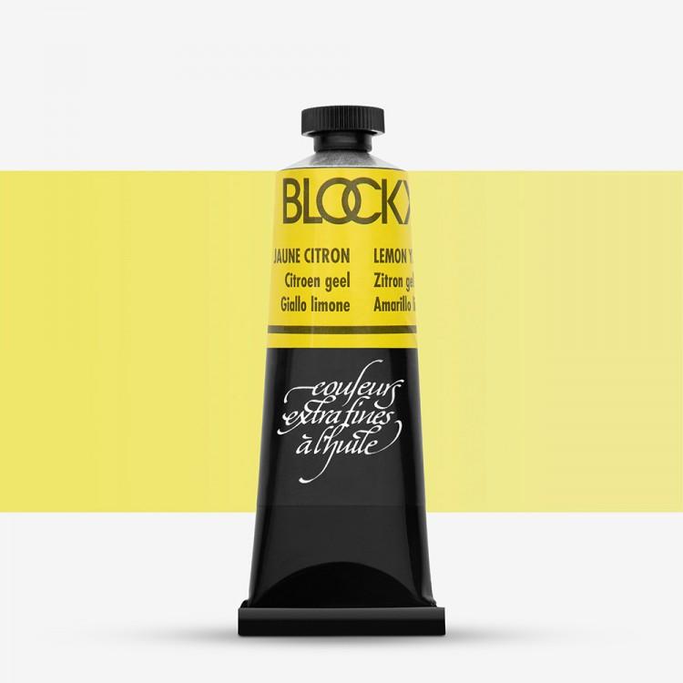 Blockx : Oil Paint : 35ml : Lemon Yellow