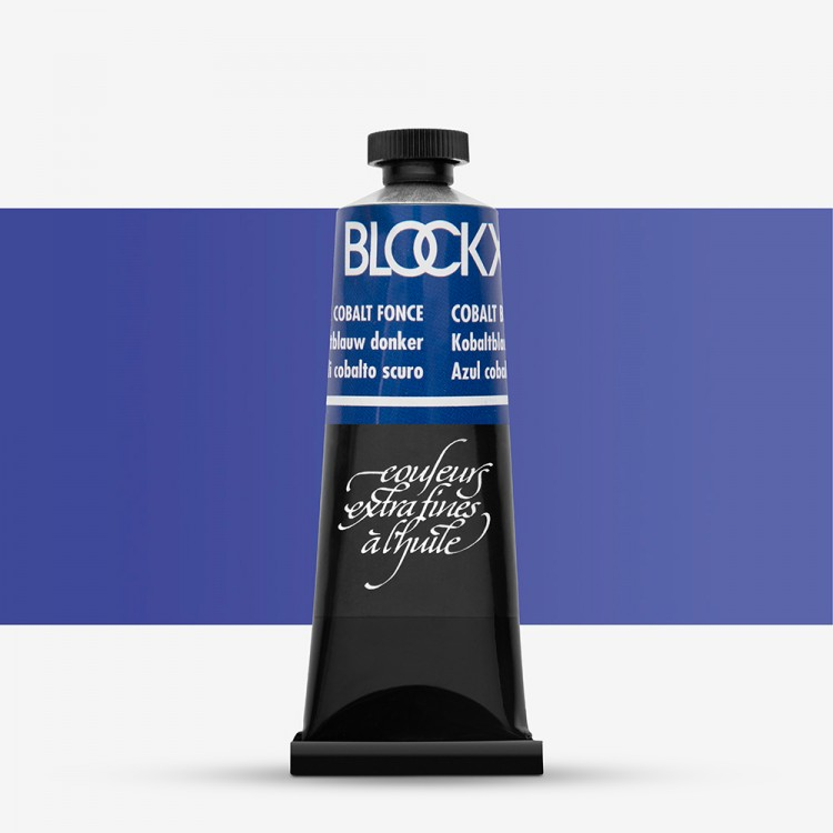 Blockx : Oil Paint : 35ml : Cobalt Blue Dark