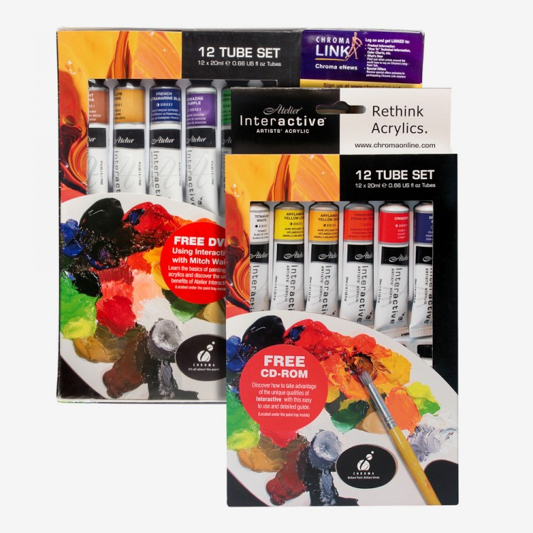 Atelier : Interactive : Artists' Acrylic Sets