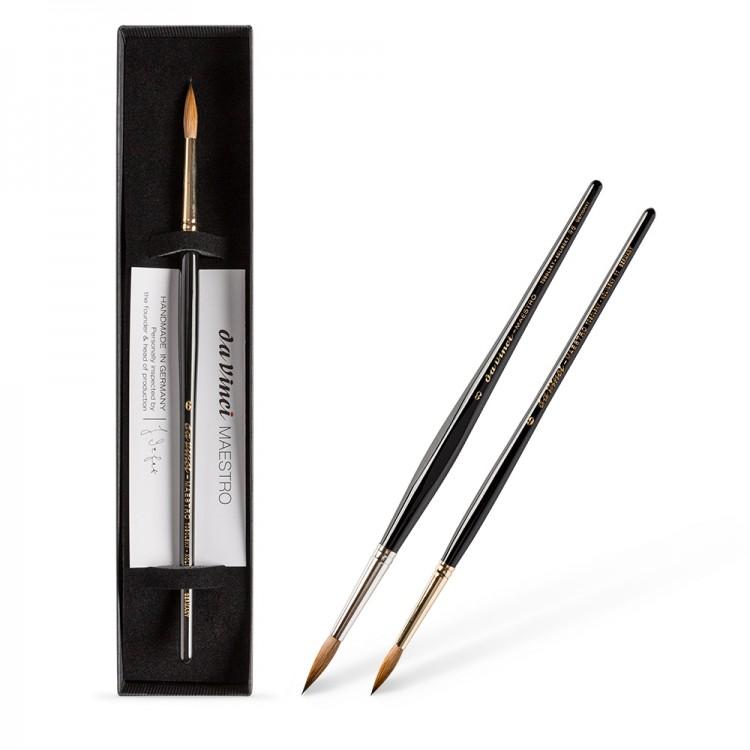 Da Vinci : Maestro Tobolsky-Kolinsky Red Sable : Boxed Gift Brushes
