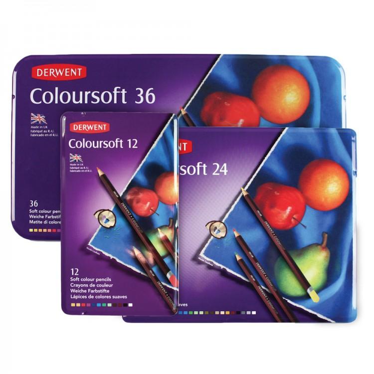 Derwent : Coloursoft Pencil Sets