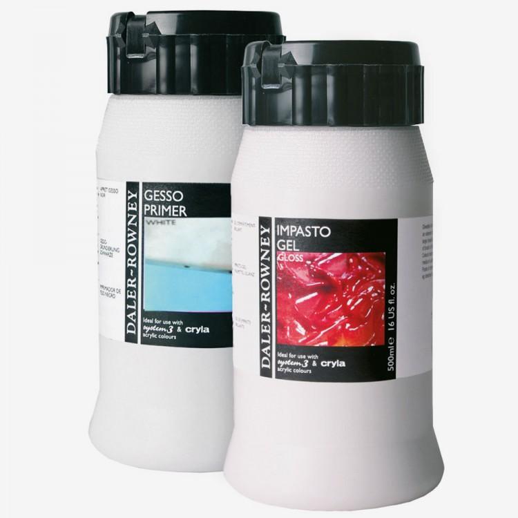 Daler Rowney : Acrylic Mediums