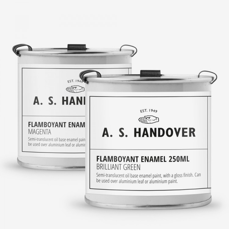 Handover : Flamboyant Enamel Paint 250ml