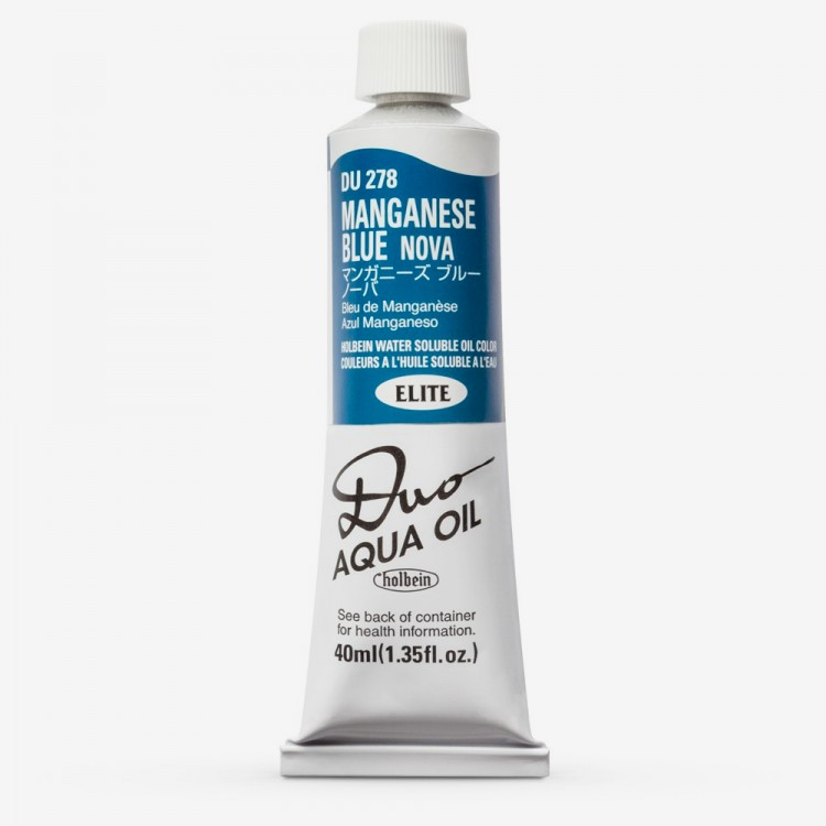Holbein : Duo-Aqua Watermixable Oil Paint : Elite Colours