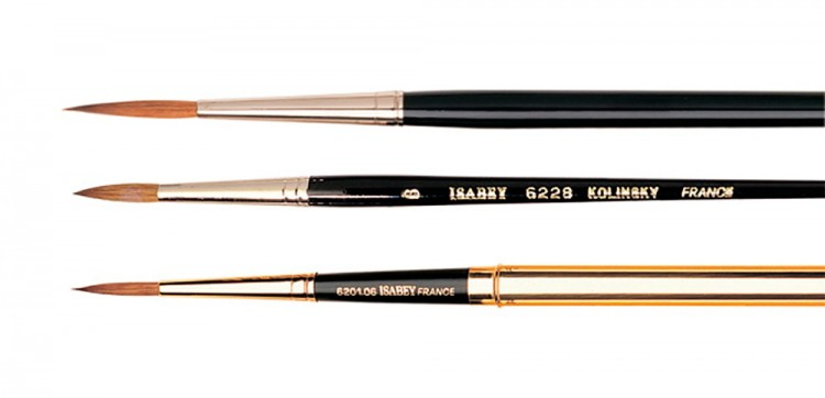 Isabey : Pure Sable Brushes : Series 6222 / 6228