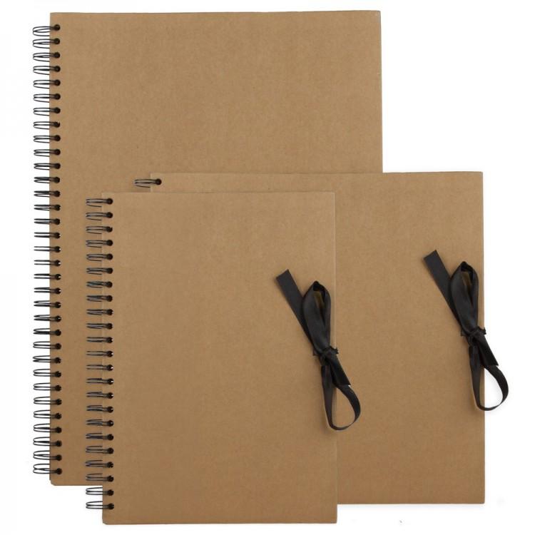 Jackson's : Brown Paper Display Books : Spiral Pads