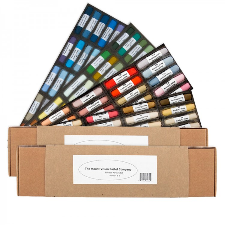 Mount Vision : Soft Pastel Sets : 50 Sticks