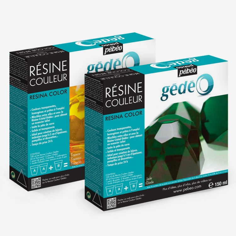 Pebeo : Gedeo Coloured Resins