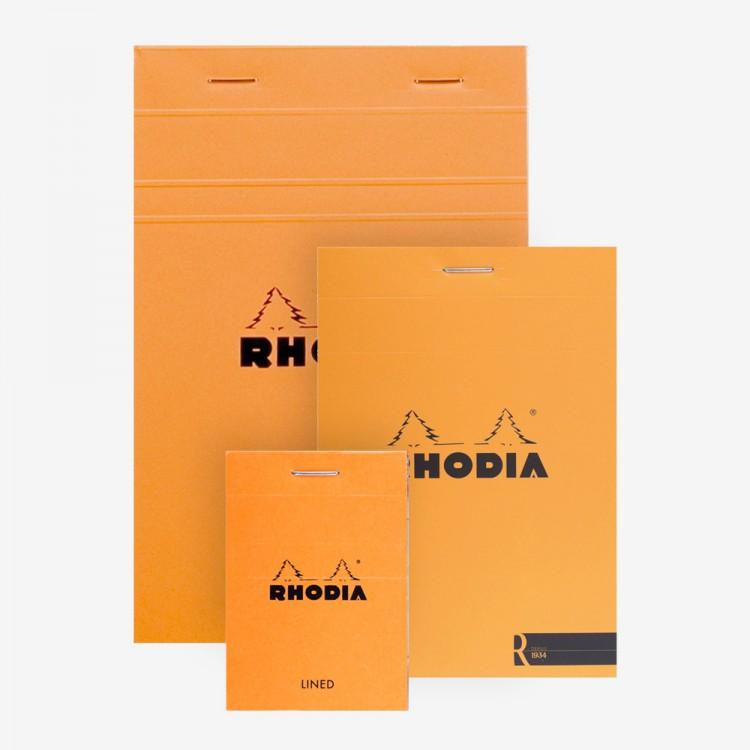 Rhodia : Basics Lined Pad : Orange Cover