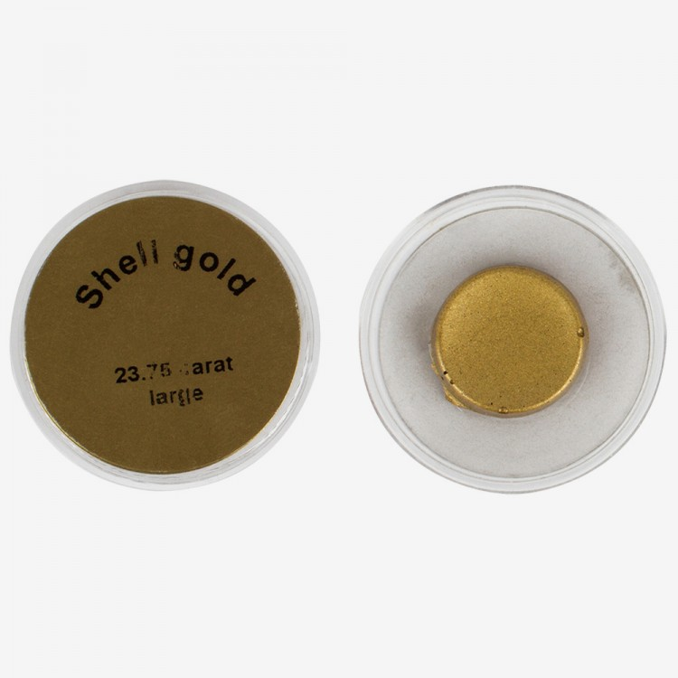 Handover : Shell Gold Watercolour Pans : Gold 23.75ct